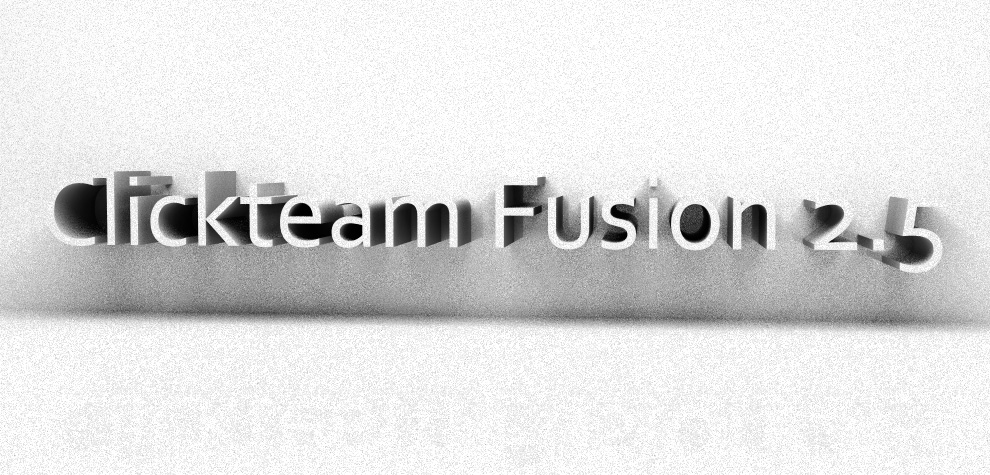 Clickteam Fusion 2.5 ( CF2.5 ) : 3D render Logo for prester.org