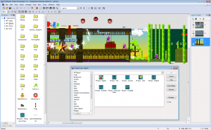 Clickteam_Fusion_2.5_FrameEditor_Screen_shot