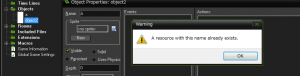 GameMakerStudio_error_name_failed