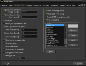 GameMakerStudio_preferences_Scripts_and_Code_settings