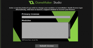 GameMakerStudio_upgrade_submit_licenses_screen