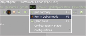 GM_S_Run_Normally_icon_-_try_to_debug_mode_build_the_application
