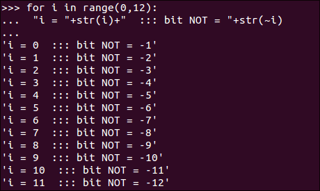 python_binary_format_bitwise_operation_NOT_sample
