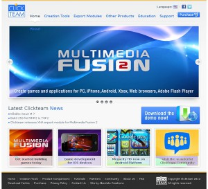 clickteam-home-2012_Multimedia Fusion 2